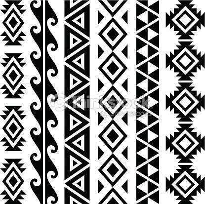 aztec motifs clipart vectoriel thinkstock. Black Bedroom Furniture Sets. Home Design Ideas