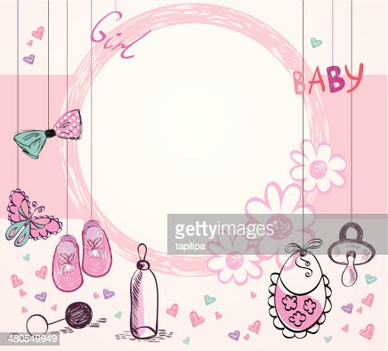 Baby Frame : Vector Art
