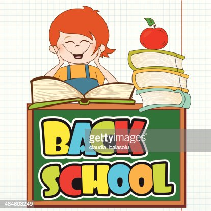 back to school : Vector Art