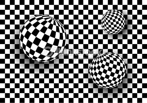 Fondo 3d blanco y negro arte vectorial thinkstock for Suelo 3d blanco