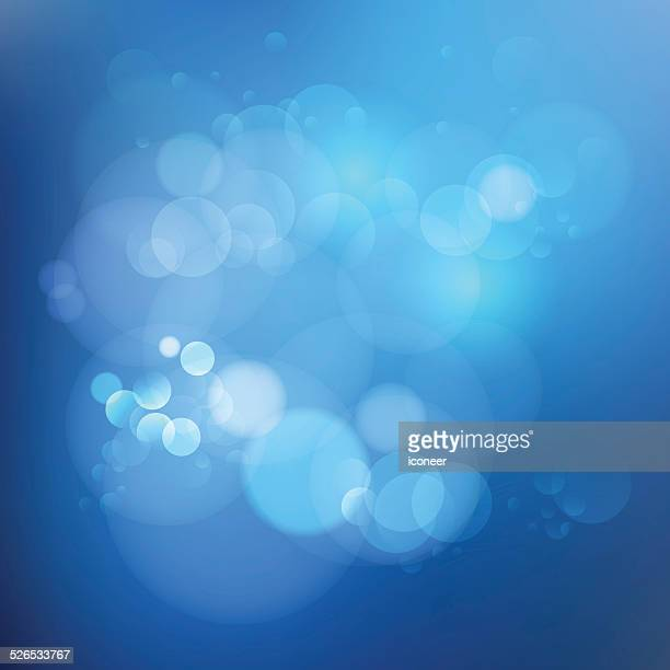 Background blue gradient color with bubbles