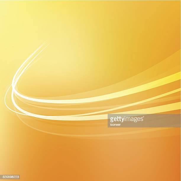 Background swirl orange