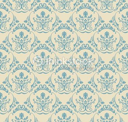 fond vintage sans couture papier peint motif fleuri clipart vectoriel thinkstock. Black Bedroom Furniture Sets. Home Design Ideas