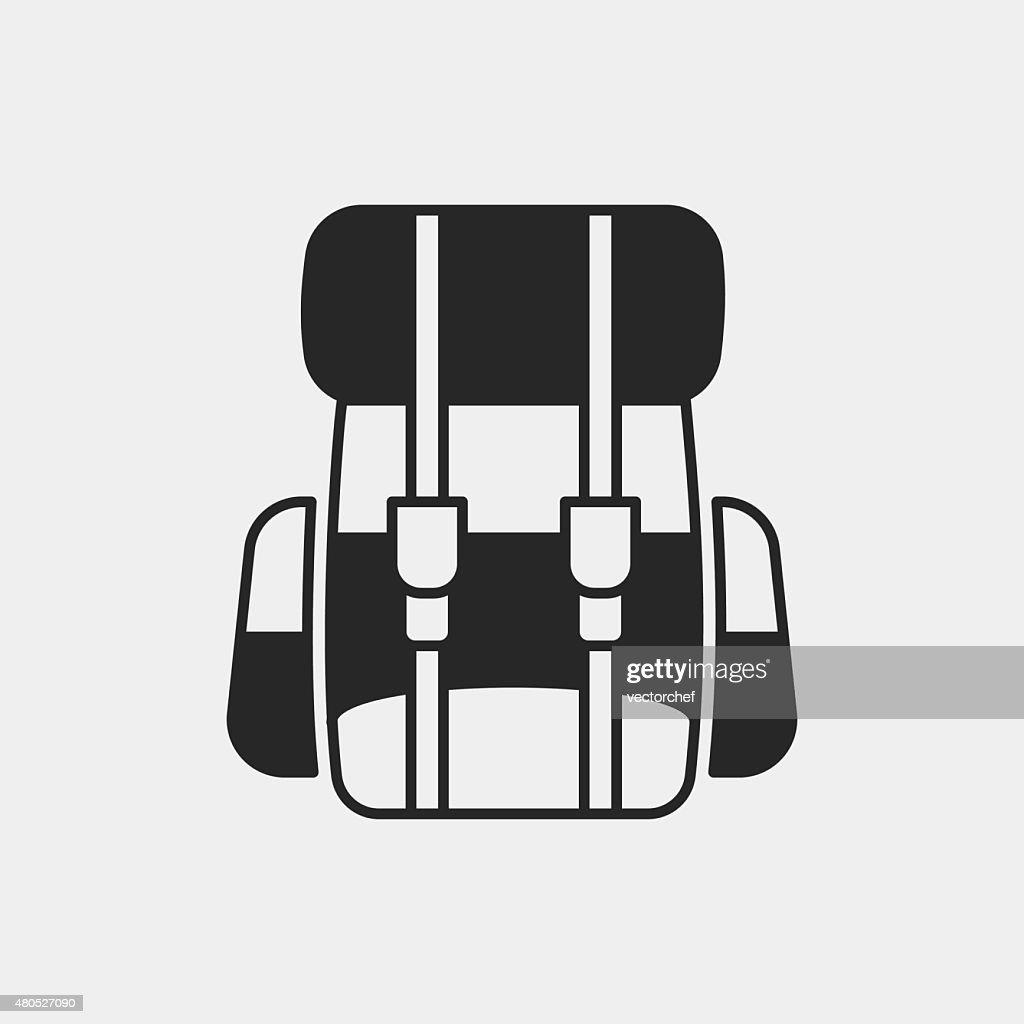 backpack icon : Vectorkunst