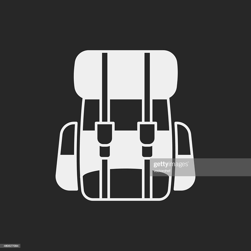Rucksack-Symbol : Vektorgrafik