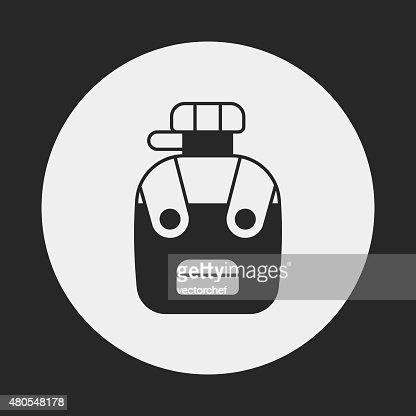 backpack icon : Vector Art