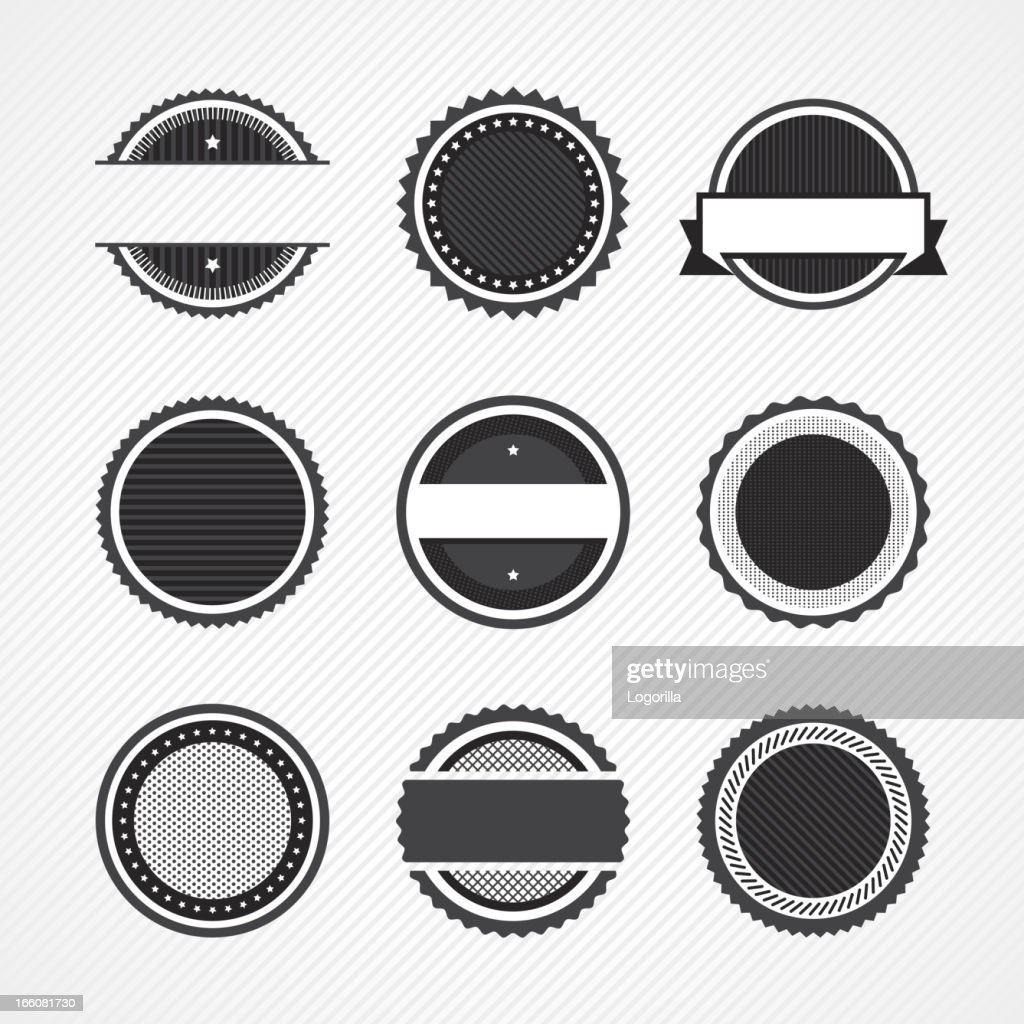 Badge icons : Vector Art