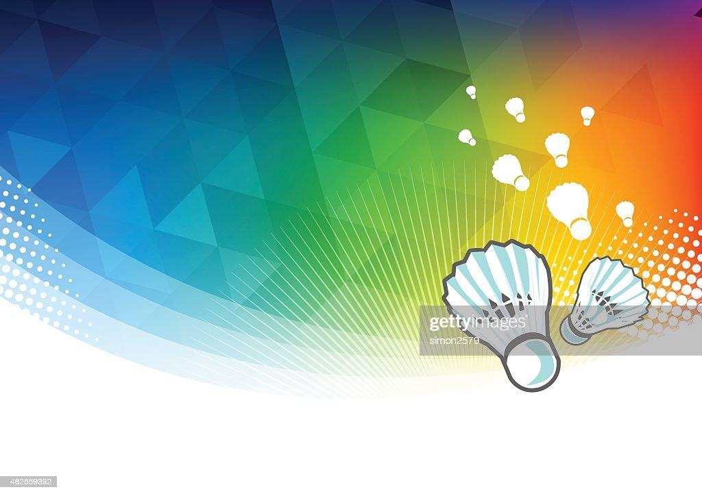 Sport Wallpaper Badminton: Badminton Sport Background Vector Art