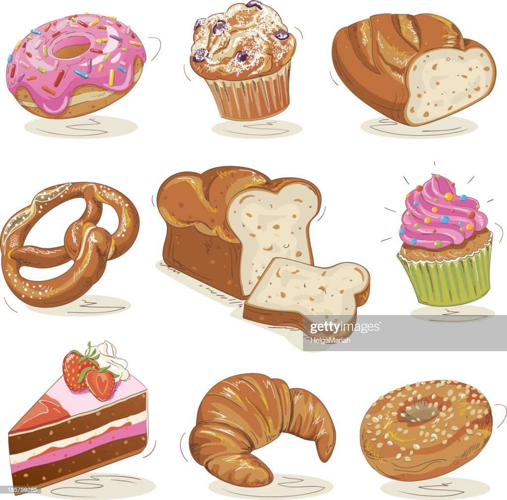 clip art images baked goods - photo #34