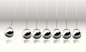 Balancing Balls of Newton's Cradle