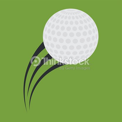 Ball of golf sport design