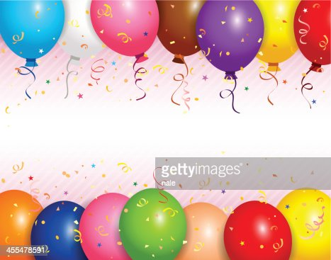 Balloons Frame Vector Art | Getty Images
