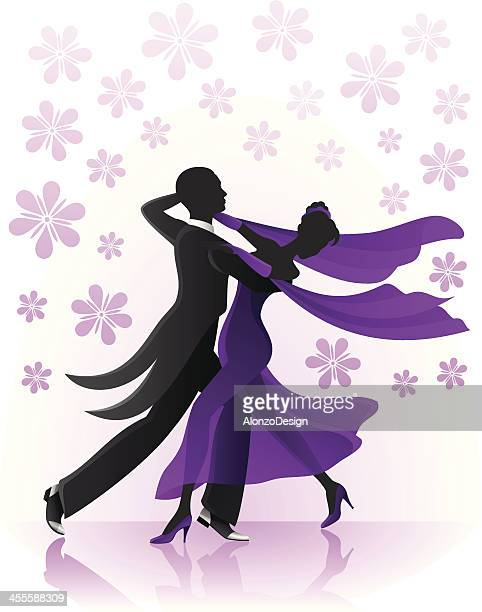 Ballroom dancing stock illustrations and cartoons getty - Danse de salon rennes ...