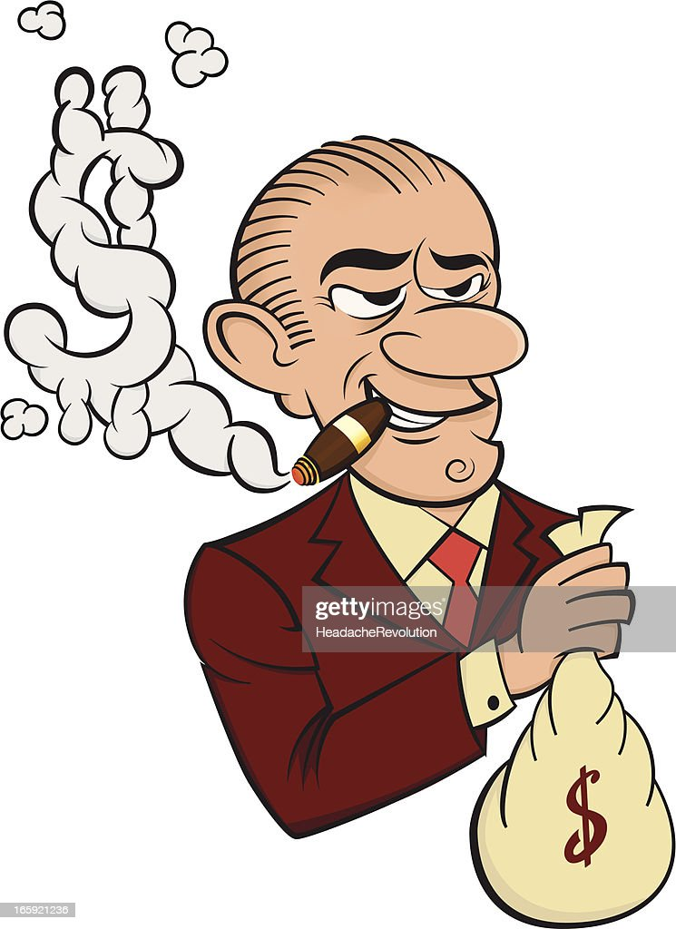 Banker Cartoon Vector Art | Getty Images