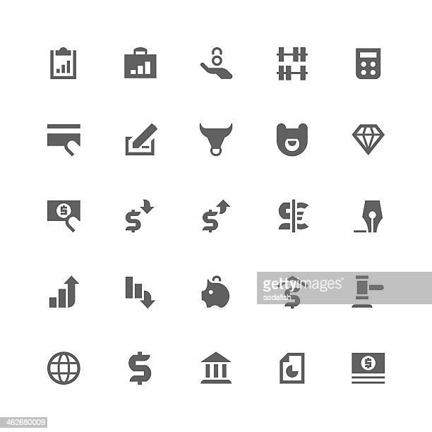 Banking and finance icons | retina series