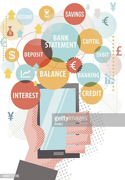 Banking Terms for smartphone