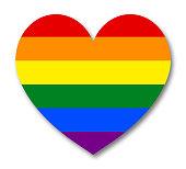 Banner Rainbow Flag LGBT Community