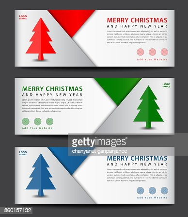 Merry Christmas Banner Template Advertisement Flyer Layout Christmas