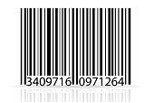 bar code stock vector illustration isolated on white background