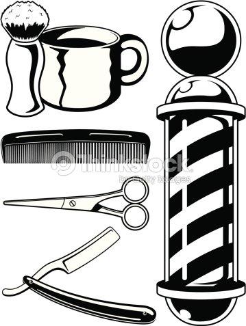 Barbershop Illustration Vector Art | Thinkstock