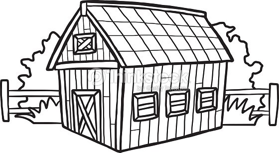 barn house stock vector  thinkstock