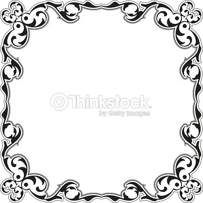 Baroque Decor Nice Frame Vector Art | Thinkstock