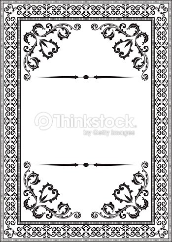 Baroque Nice Frame Vector Art | Thinkstock