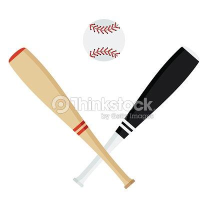 Baseball bat ball