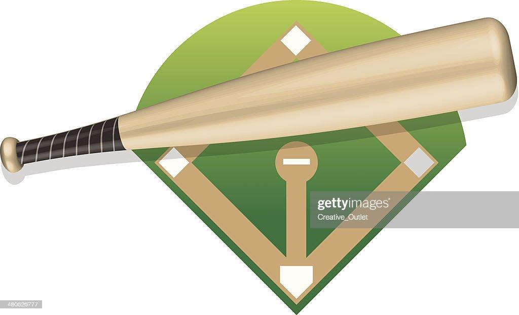 Baseball Bat : Vectorkunst