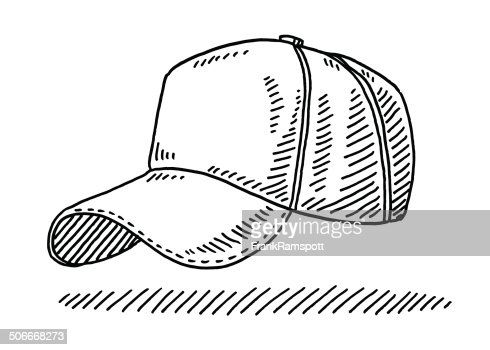 Baseball Cap Drawing Vector Art Getty Images