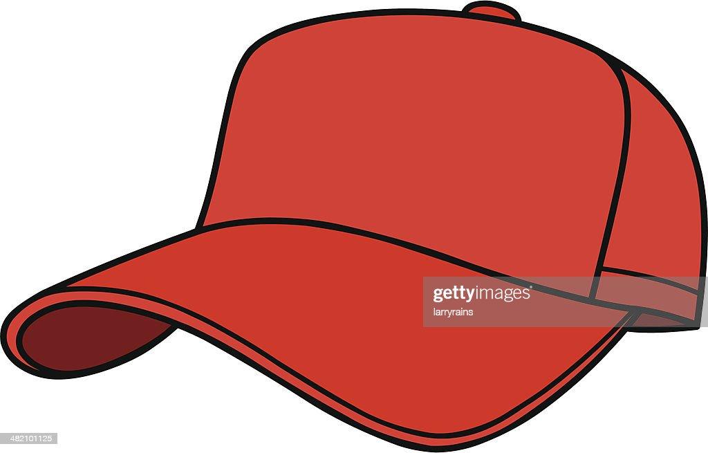 baseball cap vector art thinkstock rh thinkstockphotos com baseball hat vector image cartoon baseball hat vector