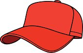 A simple plain Baseball Cap. Just insert your Team logo or business and change colors if needed.