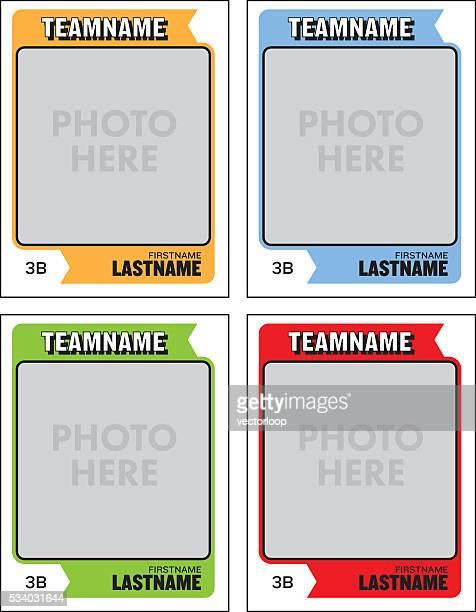 Baseball Sammelkarte Vektorgrafiken und Illustrationen | Getty Images