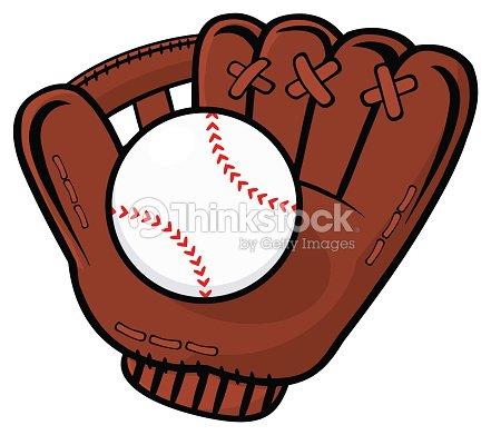 Baseball Glove With Ball : stock vector