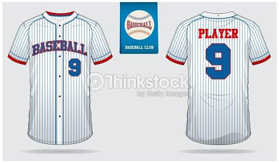 Baseball Jersey Sport Uniform Raglan T Shirt Short Sock Template Mock Up Front And Back View