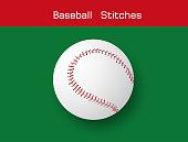 Baseball Stitches,vector design