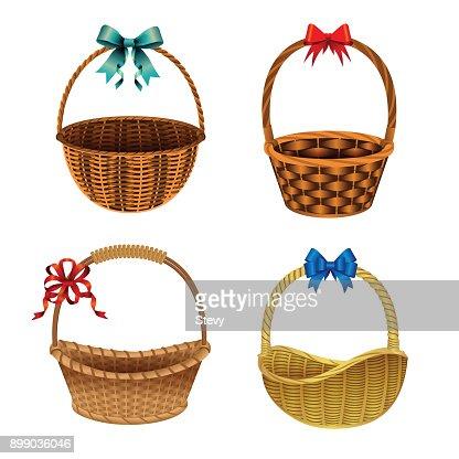 Basket : stock vector