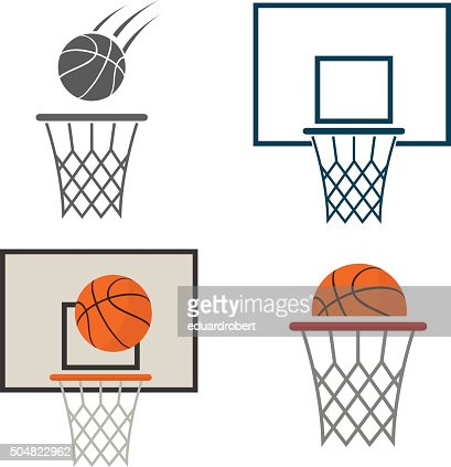 Basketball net icon : stock vector
