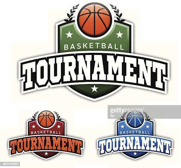 Basketball Tournament Badges