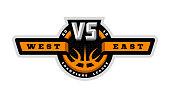 Basketball, VS sports logo emblem
