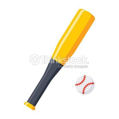 Bat and Ball for Baseball