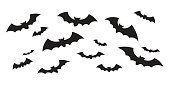 Bat icon vector doodle illustration