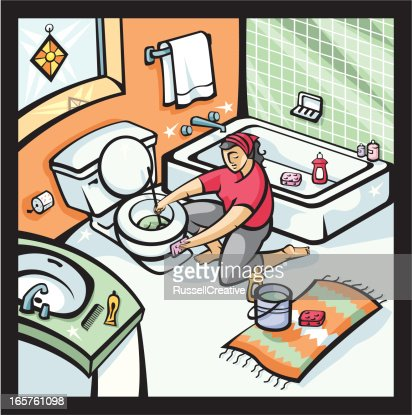 Dirty Bathroom Stock Illustrations And Cartoons Getty Images