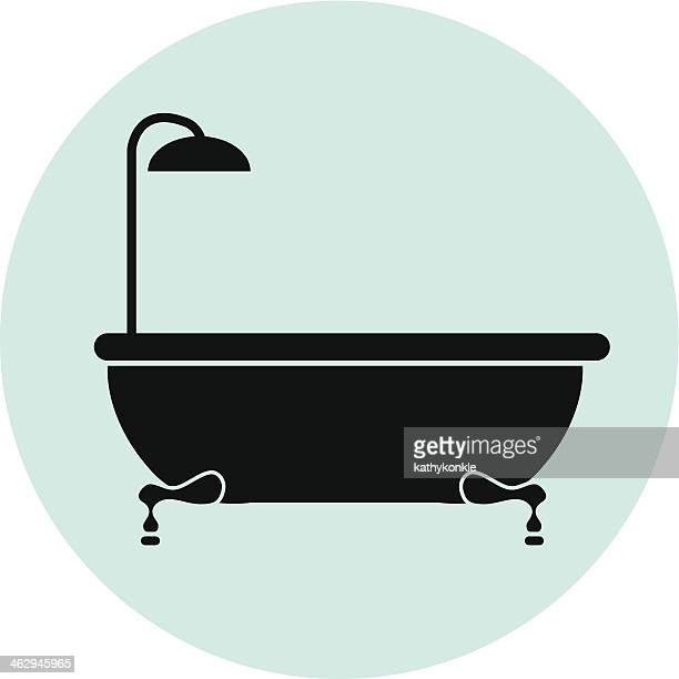 Bathtub Vector Art And Graphics