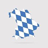 Bayern flag. Vector