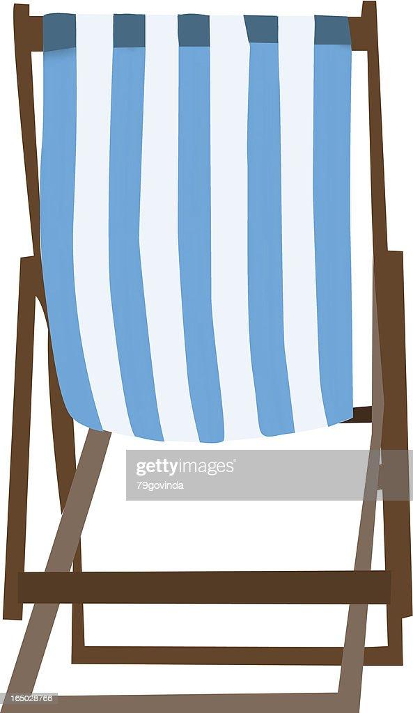 Beach Chair Vector Art | Getty Images