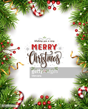 Beatiful Christmas Background : Vector Art