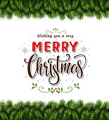 Beatiful Christmas Greeting Card
