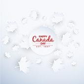 beautiful canada day background