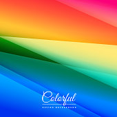 beautiful colorful background design